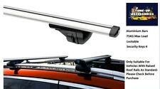 ALUMINIUM LOCKING ROOF BARS/CROSS RAILS FOR KIA CARENS ALL YEARS