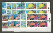 SEYCHELLES 2010 SG 986/96 MNH Blocks of 4 Cat £240