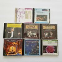 CD Lot Various Artists Classical Music 8 CDs  Total