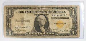1935-A $1 Dollar Note North Africa 180961B