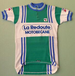 original vintage 1979 LA REDOUTE MOTOBECANE cycling jersey TOUR DE FRANCE EROICA
