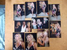 SET OF 12 4X6 PHOTOS OF LATINA BLONDE PORNSTAR CARMEN LUVANA,JESSE JANE,JANINE L