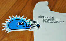 Urchin Software Corporation analysis program by Google Rare promo Sticker