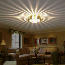 3W Modern LED Wall Ceiling Light Sconce Warm White Lighting Fixture Decor Lamp