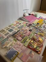 Huge Scrapbook Kit Lot - K & Company, Jolee's Boutique, Sticks, Etc