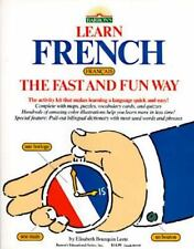 Learn French the Fast and Fun Way/With Pull-Out Bilingual Dictionary