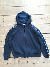 Boys' children's Gola sports PE navy blue zip up hoodie sweatshirt age 11-12 yea