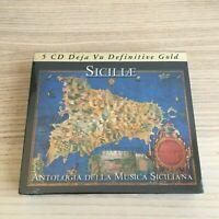 Vari _ Siciliae: Antologia della Musica Siciliana _ 5 X CD BoxSet SIGILLATO RARO