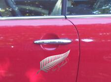 Silver Fern New Zealand Sticker NZ Decal Car Boat Lettering Tattoo