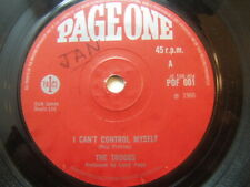 """The Troggs – I Can't Control Myself 1966 7"""" Page One POF 001"""