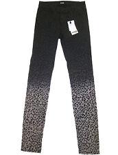 Hudson Kids Skinny Jeans girl's sz 16 Dark Gray Ombre Leopard Print NEW $69