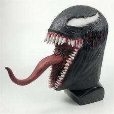 The Venom Spiderman Mask Cosplay Edward Brock Superhero Venom Latex Masks Helmet