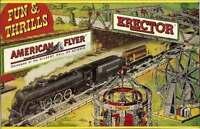 FUN & THRILLS BILLBOARD ADHESIVE BACK AMERICAN FLYER Train