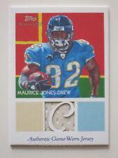 MAURICE JONES-DREW 2009 Topps GU Jersey Card #NCR-MJD JACKSONVILLE JAGUARS