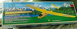 SDM Yellow Bee RTF Electric Remote Control Park Flyer Airplane 92304 NIB