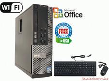 Dell Optiplex PC DESKTOP Intel i7 2600 3.40g 16GB 120gb SSD Windows 10 HP 64