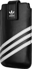 ORIGINAL ADIDAS POUCH CASE with Magnetic Clip SIZE XXL 67mm x 133mm BLACK/WHITE