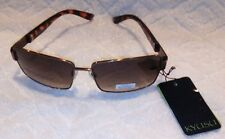Authentic Kyusu Designer Sunglasses Bronze Tortoise Shell  Imported Retail $50