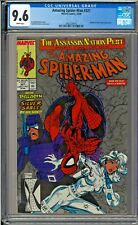 Amazing Spider-Man (1st Series) #321 CGC 9.6 W McFarlane Cover Silver Sable App