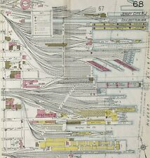 Harbor Pier Maps, New York~Sanborn Map©~sheets~75 maps in full color~1928 on Cd
