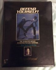Defend Yourself! 1 VHS 4 Cassette Tapes Master Cho
