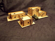 15MM  DESERT OUTPOSTS SET OF 3 EASY BUILD KITSWOULD SUIT FLAMES OF WAR