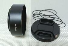 40.5 mm Metal Camera Lens Hood + 49 mm Cap for Standard Lens 40.5SC49