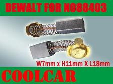Carbon Brushes For DeWALT BLACK DECKER N088403 DWP849 DWP849X POLISHER