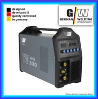 VECTOR Schweißgerät DC WIG TW330 Puls Inverter WIG ARC MMA STICK Elektrode 400V
