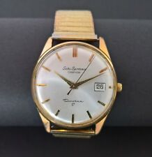 Vintage Seiko Sportsman Calendar Watch 6602-1990 Diashock 17 Jewels - Hand wound
