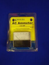 Analog AC AMMETER 0-50 AMP* GENERATOR MONITOR blue sea systems MPN 9630