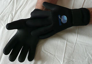 Global Sport 4.5mm neoprene wetsuit Gloves Jetski PWC Scuba Kayak