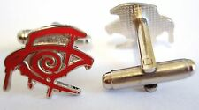 The Dark Tower CRIMSON KING RED EYE Comic Stephen King Cufflinks Cuff Links Set