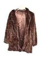 32 Paradis Pour Sprung Small Brown Fur Basic Coat