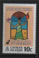 Cayman Is 2001 Womens Human Rights SG 945 MNH