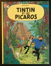 *RARE* PRINTED 1976 TinTin Et Les Picaros in FRENCH Classic Comic Book