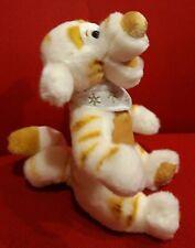 Disney Tigger Gold White Winnie Pooh tiger Plush Stuffed Animal Doll Soft Toy