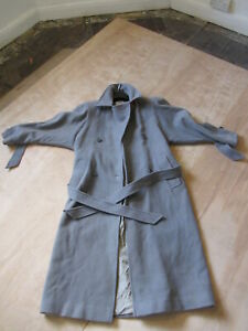 Extremely Rare Virgin Atlantic Crew Ladies Overcoat - Elizabeth Emanuel