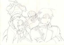Anime Genga not Cel Full Metal Alchemist Hanken 2 pages #4