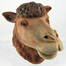Maschere marrone per carnevale e teatro dal Perù