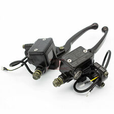 """Motorcycle 7/8"""" 22mm Master Cylinder Hydraulic Brake Clutch Levers Handle Set"""