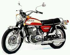 SUZUKI T500L T500 1974 MODEL TANK PAINTWORK DECAL KIT
