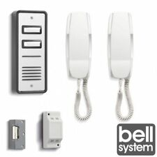 BELL902 2 WAY SYSTEM AUDIO DOOR PHONE INTERCOM ELECTRIC LOCK KIT POWER SUPPLY