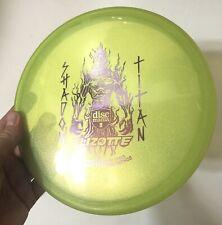 Discmania Shadow Titan Simon Lizotte Forge Method disc golf 180 Rare Oop Mid