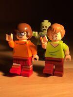 LEGO Scooby Doo Velma, Shaggy, Zeke Minifigures Lot- Good Condition