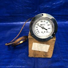 Weiss Instruments Vapor Thermometer 25Fb3-2290, 0-150F, 5Ft.