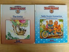 Teddy Ruxpin The Airship & Teddy Ruxpin Summertime Books Only