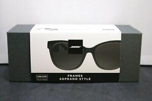 Bose Soprano Cat Eye Bluetooth Audio Sunglasses Black NIB LOOK!!!!!!!!!!!!!