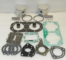 Kawasaki 650 TS SX X2 Jet-Ski Top End Rebuild Piston Kit Set 76.5mm IN STOCK