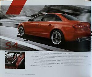 HUGE 2015 Audi A4 S4 Prestige 74 pages! Sales Brochure MiINT Catalog Like 2016